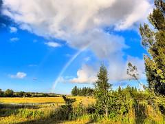 Rainbow over Wet Prairie 20181017 (Kenneth Cole Schneider) Tags: florida miramar westmiramarwca