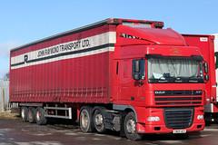 CN09 AEX XF 105.460 02-2012 (Cumberland Patriot) Tags: daf xf 105460 john raymond transport ltd