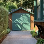 Hewlett-Packard garage exterior in Palo Alto, Silicon Valley, California ( HP garage ) thumbnail