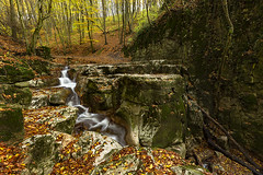 Autumn waterfall (adambotond) Tags: autumn waterfall rómaifürdő bakonynána hungary magyarország outdoor nature naturephotography bakony adam botond europe landscape landscapephotography canon canoneos1dx canonef1635f4lisusm fall water forest creek motionblur tripod longexposure wideangle