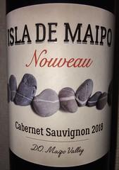 ISLA DE MAIPO Cabernet Sauvignon 2018 (Yassun) Tags: cabernetsauvignon chile wine red nouveau