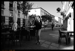 October light (Paolo Bosetti) Tags: contrasted fuji bw street