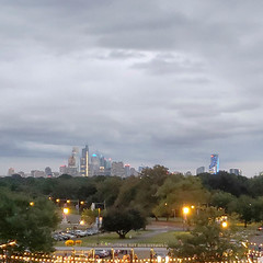 Philadelphia Skyline as Seen from The Mann Center (Tom Ipri) Tags: themanncenter samsunggalaxys9plus philadelphia philadelphiaskyline pennsylvania unitedstates us