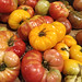 Heirloom tomatoes at Wholefoods