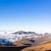 Summit of Mount Haleakala Crater Maui Hawaii pano