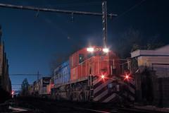 Trabajo Nocturno (Train'shadow) Tags: trenes tren train trains requinoa madera metro ruma forestal alco american locomotive company fepasa ferrocarril ferrocarriles pacifico pacific rsd34 1807 d1807 1809 d1809 50019 50020