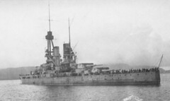 SMS Bayern 2 (kitmasterbloke) Tags: destroyer highseasfleet scotland worldwar1 ww1 germany ship cruiser scuttling orkney battleship navy monochrome water sea historic legacy history imperial smoke steam seydlitz vondertann bayern baden frankfurt dreden kaiser hindenberg moltke kronprinzwilhelm nurnberg derfflinger brummer hms canning