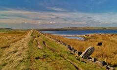 Gaddings Dam to Pendle Hill... (shushphoto) Tags: landscape water reservoir pennines westyorkshire todmorden moors moorland thehighestbeachinengland calderdale
