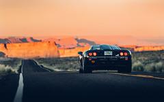 Desert Sunset. (Alex Penfold) Tags: mclaren f1 black supercar super car cars autos alex penfold 2018 utah arizona america usa united states