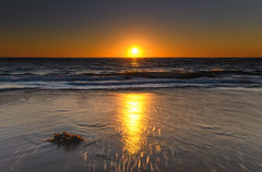 Liquid Gold Sunrise Seascape (Merrillie) Tags: daybreak sunrise seashore nature dawn australia surf centralcoast morning weather newsouthwales waves noraville nsw sea beach ocean sky landscape earlymorning coastal waterscape outdoors seascape hargravesbeach coast water seaside