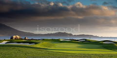 0049_golf_pb_california_99d9x9 (isogood) Tags: pebblebeach monterey golf green fairway golfcourse links california usa coastline carmel