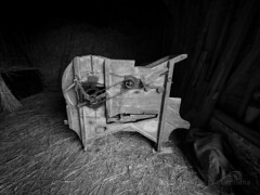 M2246640-HDR(1)_Natural_average_2 silver E-M1ii 7mm iso400 f5.6 1_30s -0.3 (Mel Stephens) Tags: 20180824 201808 2018 q3 4x3 wide olympus mzuiko mft microfourthirds m43 714mm pro omd em1ii ii mirrorless uk england chiltern museum coam httpswwwcoamorguk hdr bw black white silver efex farm farming equipment implemtns