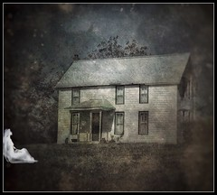 Longing.... (Sherrianne100) Tags: spooky longing oldhouse ghost halloween