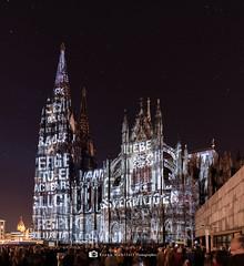 Der Dom leuchtet ... (mr.wohl) Tags: dom köln kirche beleuchtung wahrzeichen