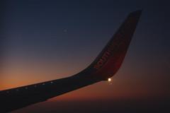 Flight 2 (nikkipeden) Tags: flight flying airplane airplanewing sky sunset sunrise southwest southwestairlines travel