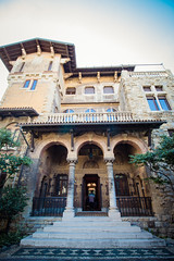 villagaslini-14 (holies) Tags: villacanaligaslini genova liberty coppedè art nouveau architecture villa