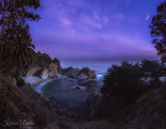 Night sky at big sur (wandering indian) Tags: milkyway astrophotography moon landscape nikon kedardatta nature bigsure bigsur caifornia sf travel