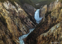 Yellowstone Falls (Alfredo Santamaria) Tags: yellowstonenationalpark wyoming estadosunidos us