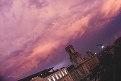 Havana (Sean Sweeney, UK) Tags: nikon dslr d750 havana cuba caribbean island vintage la habana lahabana old town oldtown sky sunset lightning storm thunder cloud skyline pink purple travel photography photo