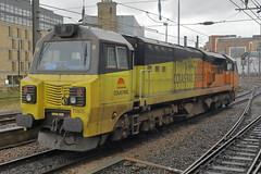 70805 0Z70 (Rob390029) Tags: colas rail class 70 70805 newcastle central railway station ncl
