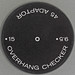 45rpm adapter - OVERHANG CHECKER