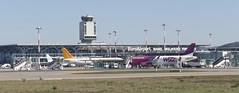 Euro Airport Basel Mulhouse Freiburg EAP with Tower 2018 (roli_b) Tags: euroairport euro airport basel basle mulhouse freiburg switzerland france aeroport aeropuerto flughafen wizz pegasus aircraft airplane jet flugzeug flieger avion aereo aviacao terminal gate 2018