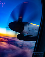 Enjoying Some Sunset Clouds From 8,687.5 FT Above Sea Level (AvgeekJoe) Tags: iflyalaska aerialphotograph alaskaair alaskaairlines bombardierdhc8402q bombardierdash8400 bombardierdash8q402 bombardierq400 d5300 dhc8402q dslr dash8 dehavillandcanadadhc8402qdash8 dowtyr408 dowtyr408propeller horizonair n430qx nikon nikond5300 propdisk propeller propliners q400 r408 tamron18400mm tamron18400mmf3563diiivchld aerial aerialphoto aerialphotography aircraft airplane aviation plane propliner sunset turboprop