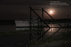 Moonrise (viewfinder.general) Tags: thornham fullmoon hightide