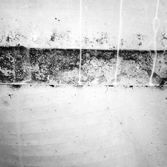 Mapping the Unknown (YIP2) Tags: minimal minimalism abstract less zero zen simple detail remains texture surface old past vintage interior glass line lines urbandetail bw blackandwhite monochrome