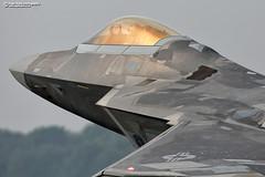 Lockheed Martin F-22 Raptor (Nigel Blake, 17 MILLION views! Many thanks!) Tags: lockheed martin f22 raptor raf lakenheath lockheedmartin military stealth jet fighter airsuperiority weapon