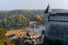 La Loire à Saumur (Chrisar) Tags: angénieux3570 architecture nikond750 rivière