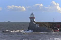 Balbriggan (rickybon) Tags: balbriggan lighthouse dublin ireland water sea landscape pentaxk5 pentaxflickraward pentaxart pentax k5 riccardobonelli