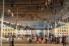 double (Rasande Tyskar) Tags: marseille old port spiegel mirror public art expression installation france frankreich hafen reflektion reflections foster spiegelbild reflection kunst