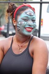 eye makeup (lucymagoo_images) Tags: new louisiana nola canon eos rebel sl1 portrait kreweofboo halloween parade costume makeup people woman face eyes