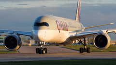 A7-ALA Qatar Airways Airbus A350 (Ian Marsh 787) Tags: a7ala qatar airways airbus a350 plane planespotting manchester airport aviation nikon d810 nikkor afs 70200mm f28 vrii