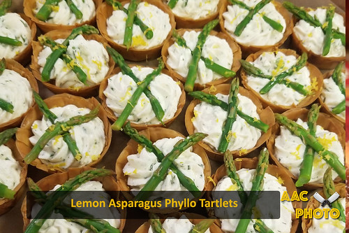 """Lemon Asparagus Phyllo Tarts • <a style=""""font-size:0.8em;"""" href=""""http://www.flickr.com/photos/159796538@N03/45670565271/"""" target=""""_blank"""">View on Flickr</a>"""