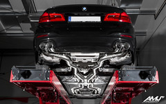 BMW M550i xDrive (G30) with REMUS racing cat-back exhaust system (www.amj-performance.pl) Tags: remus racing catback exhaust system bmw m550i xdrive g30 amj amjperformance poland workshop