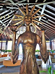 Sun Ra (knightbefore_99) Tags: mexico mexican mujeres island isla quintanaroo tropical cool great awesome playa plage art sun sol ra god sculpture fantastic
