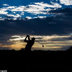 Morning Golf (SMPhotos2548) Tags: sunrise silhouette shadow golf sport nj newjersey