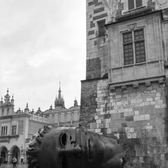 IMG_20161231_120250_785 (Dominga_nav) Tags: bw krakow