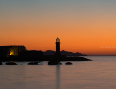 Postal desde Bouzas (Paco Dicenta) Tags: faro lighthouse vigo museo do mar