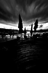 000665 (la_imagen) Tags: silhouette silhuette siluet lindau lindauimbodensee bodensee laimagen lakeconstanze lagodiconstanza lagodeconstanza friedrichshafen experiment sw bw blackandwhite siyahbeyaz monochrome