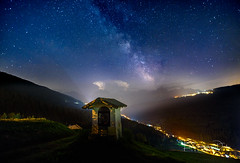 Chapel (Ellen van den Doel) Tags: nacht night astrophotography stars italie italy dolomieten holiday light dolomites travel way astro sterren melkweg 2018 milky chapel mountain sannicolodicomelico veneto italië it