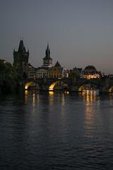 DSC_0310 (Megabarney84) Tags: praga prague bridge river moldava nikon nikond3300 nikonitalia photography sunset