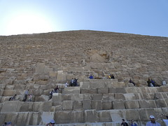 Great Pyramid of Giza - 2017 (ashabot) Tags: egypt pyramid ancientsites cheops khufu unesco worldheritagesite 2017 ancient ruins sky wonders people