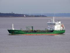 DSCN3097 (Darren B. Hillman) Tags: thungoliath ships coastaltankers rivermersey bromborough riverpark water sky nikon p900