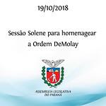 Sessão Solene 19/10/2018