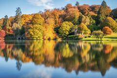Autumn Reflections (Rich Walker75) Tags: stourhead nationaltrust lake lakes autumn autumnal reflection reflections trees colour colours landscape landscapes landscapephotography canon efs1585mmisusm eos eos80d longexposure longexposures longexposurephotography