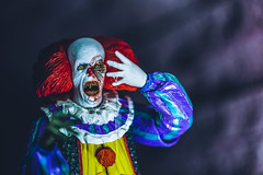 Battery Acid (3rd-Rate Photography) Tags: it pennywise bobgrey clown stephenking neca timcurry pennywisethedancingclown maine horror halloween derry canon 50mm 5dmarkiii toy toyphotography jacksonville florida 3rdratephotography earlware 365