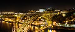 Porto; Bring On The Night! (drasphotography) Tags: porto portugal travelphotography cityscape urban bridge nightshot brücke ponte night nacht drasphotography nikon